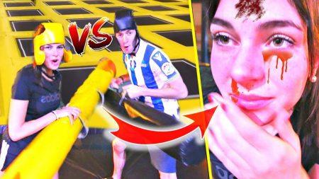 Celine & Michiel – Gekke Challenges In Leeg TrampolinePark *Voetbal Gaat Fout* – Vlog #76
