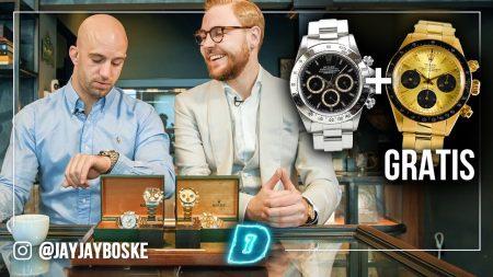 JayJay Boske DAY1 – Gratis Rolex Van €150.000 Weggegeven?! – DAY1 Watch This