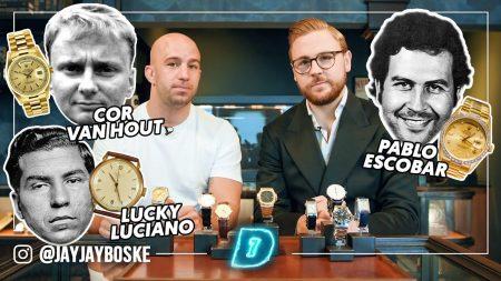 JayJay Boske DAY1 – Miljoenen Aan Gangster Horloges ! Pablo Escobar, Willem Holleeder