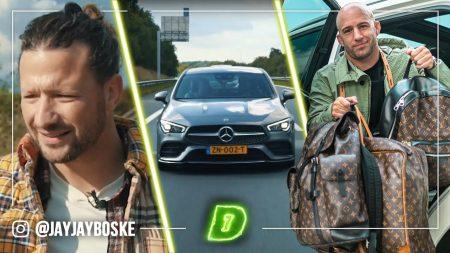 JayJay Boske DAY1 – De Auto Van En Sporten Met Kraantje Pappie!
