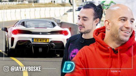 JayJay Boske DAY1 – De Eerste Ferrari Pista In DAY1 Van Joseph Klibansky 🚙🎥