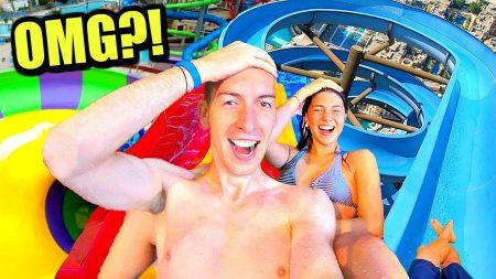 Celine & Michiel – OMG Gekke Glijbanen In Mega Aquapark! 🤩 #66