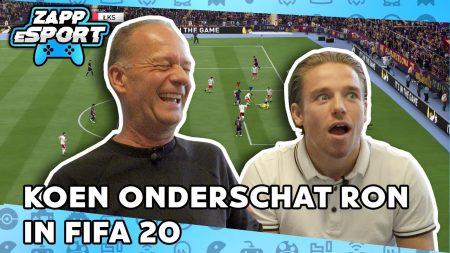 Zappsport – Koen Weijland vs Ron Boszhard In Onmogelijke FIFA Match – FIFA 2020 Challenge