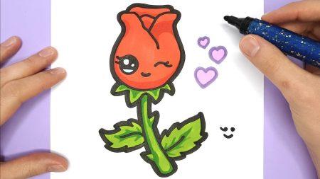 Hoe Teken Je – Een Roos