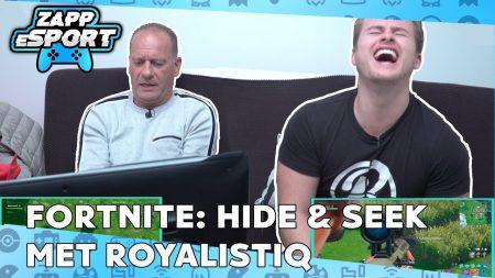Zappsport – Royalistiq vs Ron – Slechtste Verstopplek Ooit?! – Fortnite Challenge