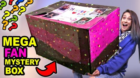 MeisjeDjamila – Gigantische Mysterybox Van Fans Openen!