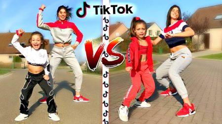 Celine & Michiel – Top 10 TikTok Challenges vs 8 Jarig Toptalent!