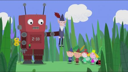 Ben & Holly – De Speelgoedrobot