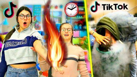 Celine & Michiel – De Gekste Tik Tok Challenge Ooit! *Experiment* #83