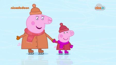 Peppa Pig – Schaatsen