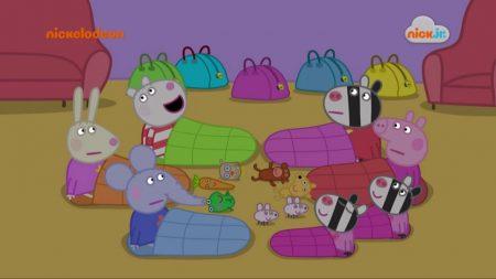 Peppa Pig – Slaapfeestje