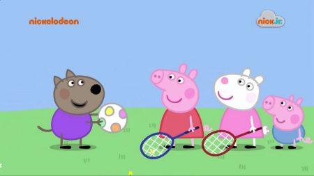 Peppa Pig – Spelen Met De Bal
