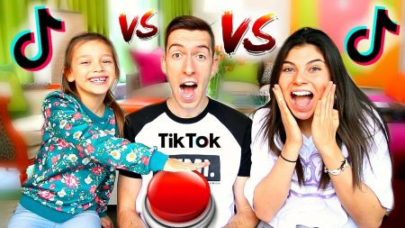 Celine & Michiel – Tik Tok Lyrics Challenge vs 8-Jarige Tik Tok Queen! #85