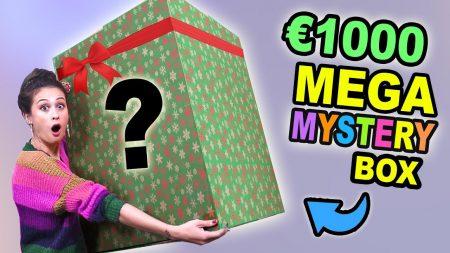MeisjeDjamila – €1000 Mega Kerst Mysterybox Openen! – Fan Friday