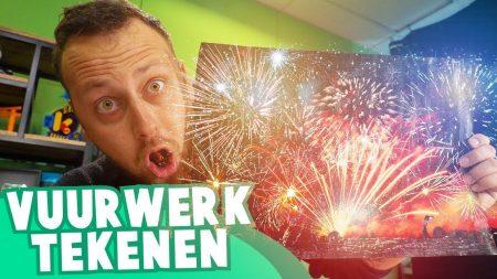 Team Dylan Haegens – Vuurwerk Tekenen – Oud op Nieuw met Rick
