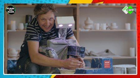 Klaas Kan Alles – Een Pottenbakrobot?! – Kan Klaas Fien Vermeulen Verslaan In Een Pottenbak-duel?