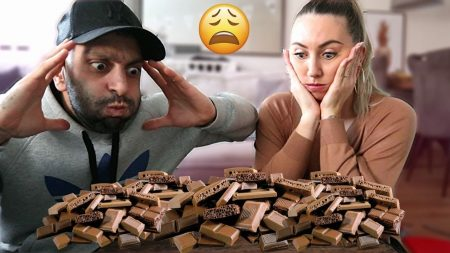 Familie Lakap – Laatste Die Stopt Met Eten Van Chocolade Wint! – Vlog #343