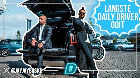 JayJay Boske DAY1 – Bij de MAC naar Binnen Rijden Met Een Rolls Royce!