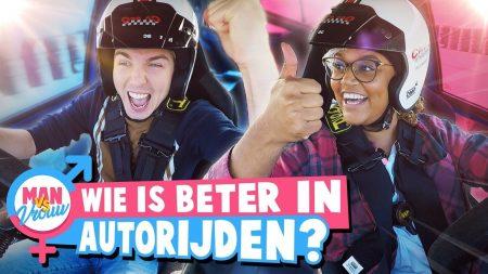 Dylan Haegens – Wie Kan Het Beste Autorijden? – Man vs Vrouw #1