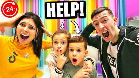 Celine & Michiel – Wij Worden Ouders Voor 1 Dag! *24 Uur Challenge* #79