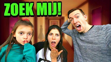 Celine & Michiel – Verstoppertje Spelen In Spookhotel! #88