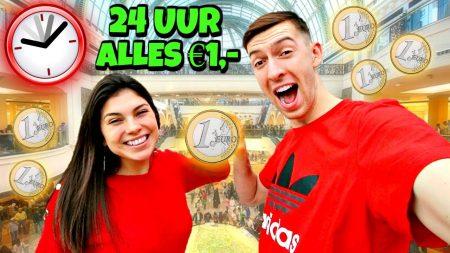 Celine & Michiel – 1 Dag Leven Van €1,- Producten! *Challenge*