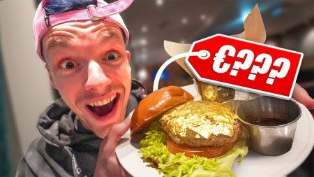 Enzo Knol – Deze Hamburger Is Van Goud! – Vlog #2352
