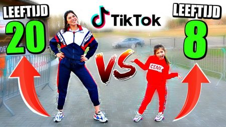 Celine & Michiel – Tik tok Dans Battle vss 8 Jarig Toptalent! #95