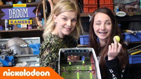 Droomkamers DIY – Je Eigen Voetbaltafel Maken Met Femke Meines En Sara Dol ⚽