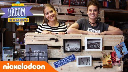 Droomkamers DIY – Maak Een Palletmuur Met Britt Scholte En Emma Keuven 😍