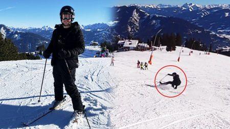 Royalistiq – Voor Het Eerst Skiën! Gaat Fout.. 😅