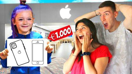 Celine & Michiel – Alles Kopen Wat 8 Jarig Kind Tekent! *Challenge* #89