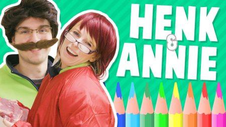 Team Dylan Haegens – Henk & Annie – Tekenen met Rick
