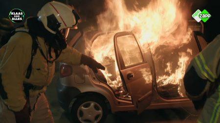 Klaas Kan Alles – Wat Spannend – Kan Klaas Een Autobrand Uitblazen?
