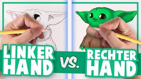 Team Dylan Haegens – Linkerhand vs Rechterhand – Tekenen met Rick