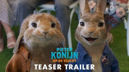 Pieter Konijn Op De Vlucht – Trailer