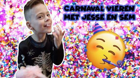 De Bakkertjes – Suikerspinnen Eten Bij Carnaval!