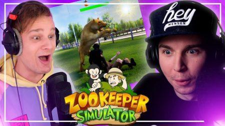 Dylan Haegens Gaming – Zookeeper Simulator! – Met Ronald