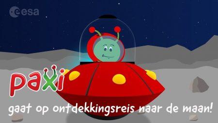 Paxi – Paxi Gaat Op Ontdekkingsreis Naar De Maan!