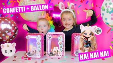 De Zoete Zusjes – Confetti Party Met  Na!Na!Na! Surprise!! [De Nieuwste L.O.L Ballon Verrassingen]