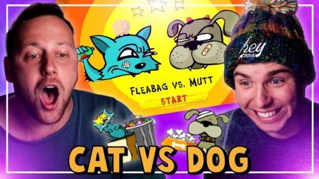 Dylan Haegens Gaming – Cat vs Dog! – Met Rick