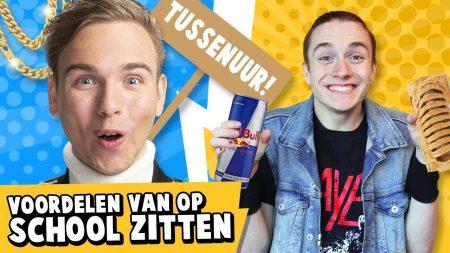 Dylan Haegens – 10 Voordelen Van Op School Zitten!