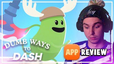Dylan Haegens Gaming – Dumb Ways To Dash! – App Review
