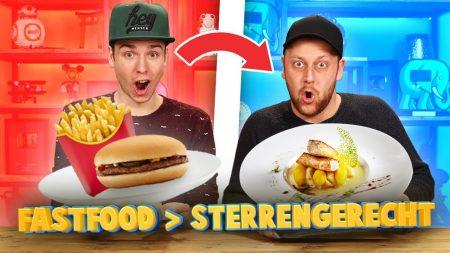 Team Dylan Haegens – Van Fastfood Een Sterrengerechts Maken!