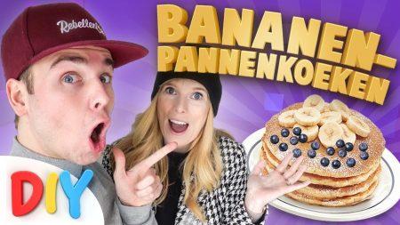 Team Dylan Haegens – DIY: Bananen Pannenkoeken!