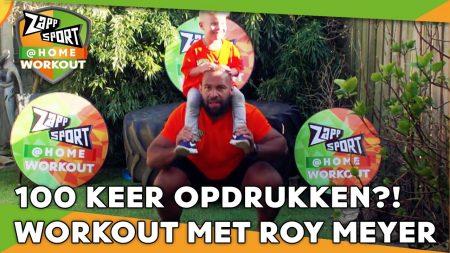 Zappsport – Zappsport@Home Workout Met Roy Meyer – Dag 7
