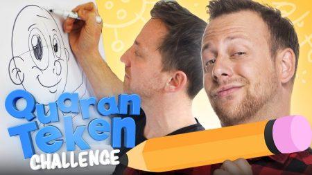 Team Dylan Haegens – Striptekenen Workshop [Quaranteken Challenge]