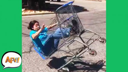 AFV 2020 – She Got Carted Away! 😂 – Funny Videos