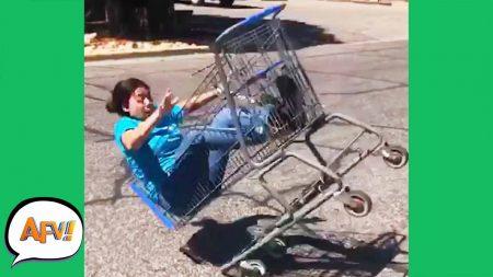 AFV 2020 – She Got Carted Away! 😂 – Funny Videos