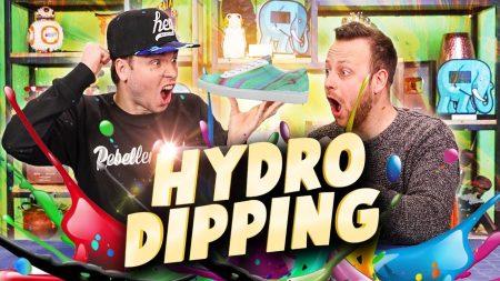 Team Dylan Haegens – Spullen Hydro Dippen!